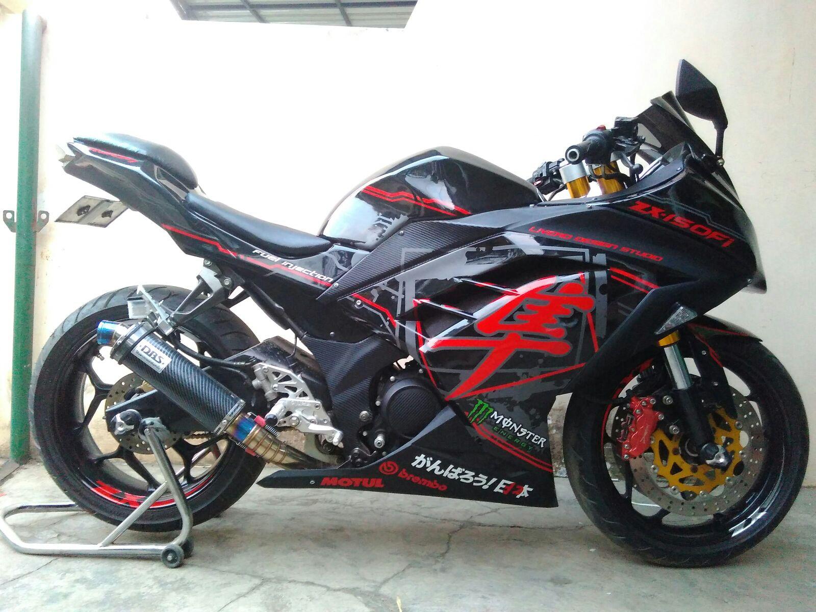100 Biaya Modifikasi Vixion Jadi Ninja 250 Modifikasi Motor